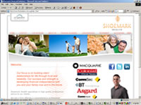Shoemark Financial Solutions Website