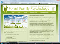 Forest Family Psychology Website