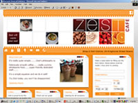Zest Cafe website